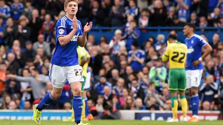 Teddy Bishop is back fit again for Ipswich