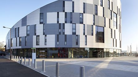 The UCS Waterfront building in Ipswich.