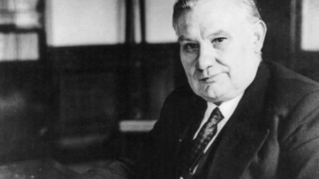 Ernest Bevin: 'A big character in Government who would have no problems disagreeing loudly in Cabine