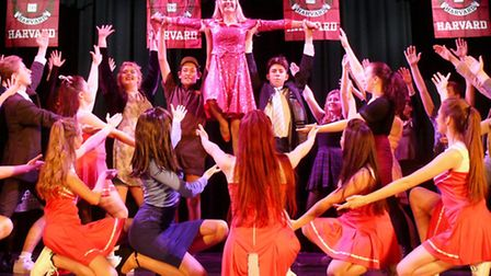 The Youth Theatre Performerz rehearsing their production of Legally Blonde: The Musical