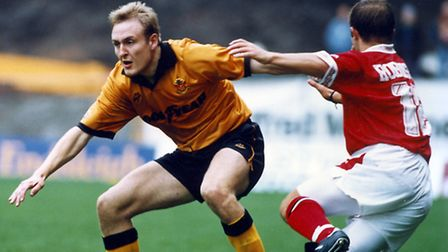 Mark Venus in his Wolves days