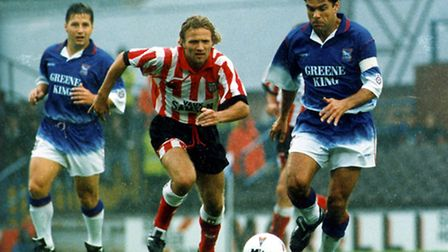 Micky Stockwell in action