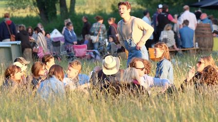 Scenes from the Red Rooster music festival at the Euston Estate, near Thetford. Picture: John Connor