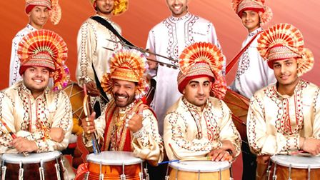 Top world artists have taken part in the Drum Camp festival in Bungay include The Dhol Blasters, fro