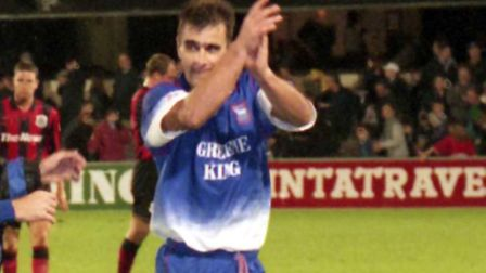 Neil Thompson scored a famous winner at Southend