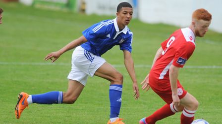 Myles Kenlock scored one and made another as Ipswich Town U21s beat Crewe today