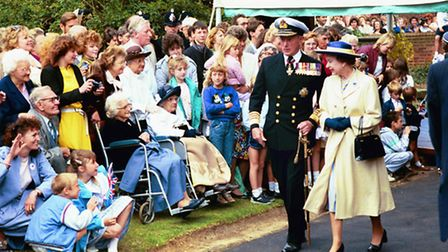 The Queen in Chelmsford 1988