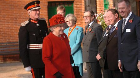 The Queen's visit to Animal Health Trust, Kentford near Newmarket