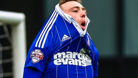 Freddie Sears is frustrated after missing a chance against Brentford