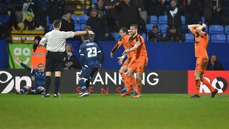 Ipswich Town concede a 97th-minute penalty at Bolton Wanderers