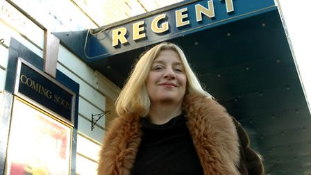 Victoria Wood who wrote and directed the stage show Acorn Antiques at the Ipswich Regent. PICTURE A