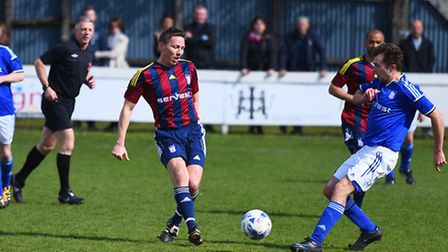 The charity Ipswich Legends game last year.