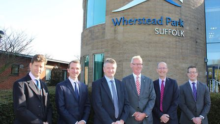 From left, Robert Gair and Julian Outen, partners at the Ipswich office of Ellisons Solicitors, Guy