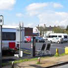 Travellers have moved onto Scales Street carpark in Bungay.PHOTO: Nick Butcher