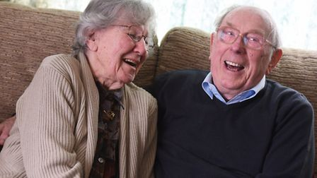 Don and Joan Leeke from Lakenheath are celebrating their 70th wedding anniversary.