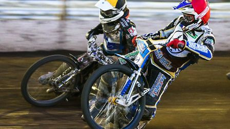 Richie Worrall, right, will guest for the Witches on Saturday