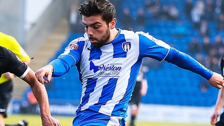 Elliot Lee, who netted the U' second goal in a 4-1 win over Doncaster Rovers today