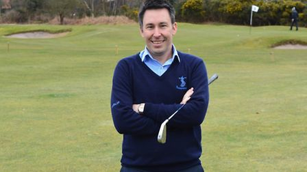Brad McLean, the new general manager of Thorpeness Golf Club and Hotel.