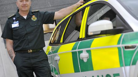 Robert Morton is the Chief Executive of the East of England Ambulance Service.