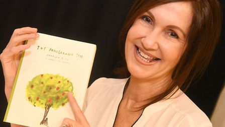 Clacton journalist Vanessa Altin, who has written her first book The Pomegranate Tree about the Syri