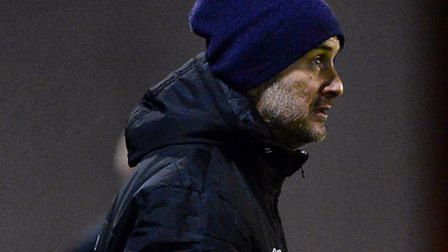 New assistant manager, Steve Ball, who will take charge of the U's today