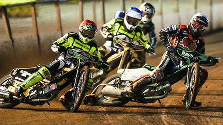 Danny King (red) and James Sarjeant (blue) will be at Glasgow to try and make the British Final