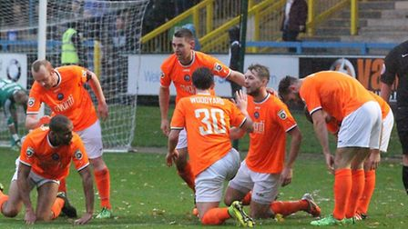 Braintree Town have secured a place in the National League play-offs