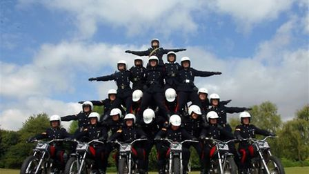 The White Helmets display team are the main attraction at this year's Hadleigh Show