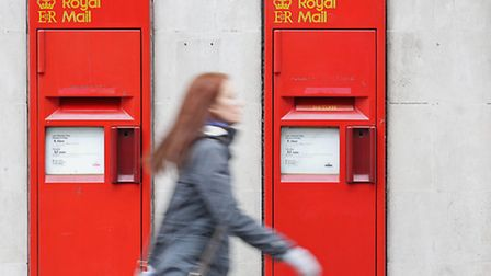 Royal Mail today reported annual profits for the year to March 27. Photo: Philip Toscano/PA Wire
