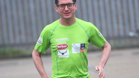 Tom Boother is running from Land's End to John O'Groats in aid of EACH and Great Ormond Street. Marq
