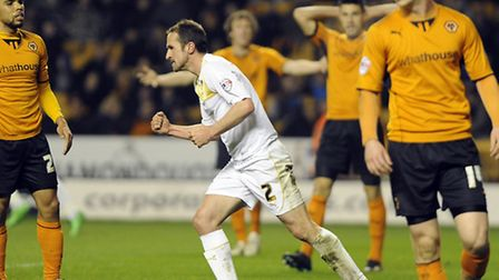 Clenched fist: David Wright celebrates in defiance after scoring, during his playing days, in the 4-