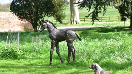 Art for Cure 2016 will be held at Glemham Hall this year, with a sculpture park set within the groun