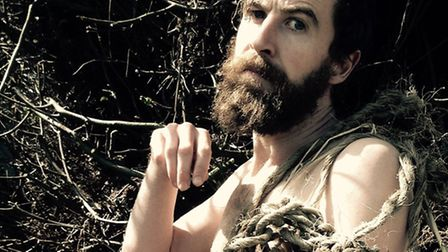 Martin Bonger in The Return of The Wildman, being performed at this year's Storm of Stories