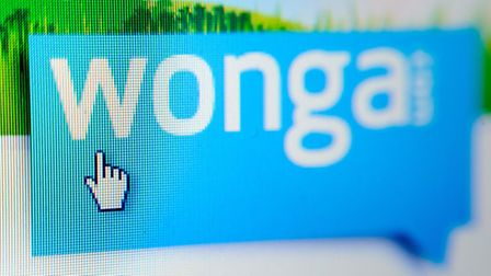 File photo dated 16/12/12 of the website of payday loan company Wonga. Controversial payday lender W