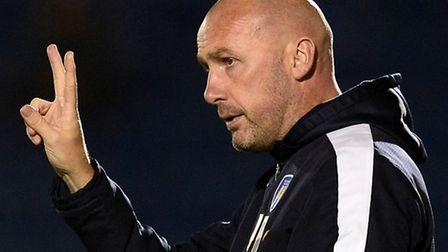 John McGreal, the new manager of Colchester United