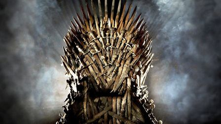 The Iron Throne featured in the Game of Thrones series, which is coming to Ipswich this month