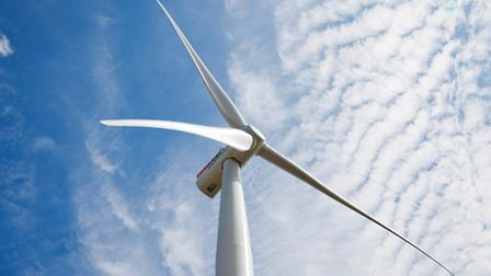One of Siemens' 7MW wind turbines, of the kind to be installed as part of the East Anglia One offsho