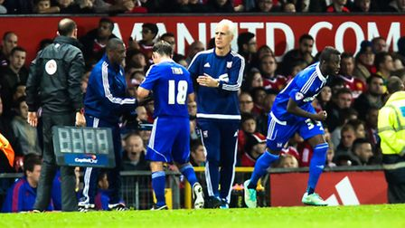 Mick McCarthy made a host of changes for the trip to Old Trafford