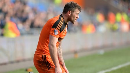 Daryl Murphy couldn't repeat his form of 2014/15