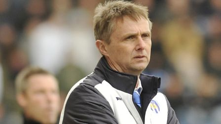 Former Colchester United boss, Kevin Keen, who only lasted in the job for 127 days