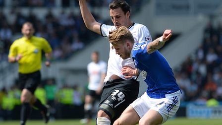 Luke Hyam has signed a new deal at Portman Road