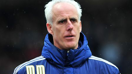 Mick McCarthy, Manager of Ipswich Town Bristol City v Ipswich Town