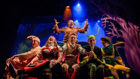 James and the Giant Peach, a fun family show for youngsters and the young at heart, which is at the