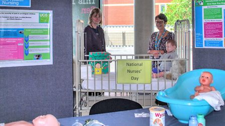National Nurses Day at UCS Waterfront building on Monday