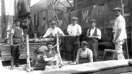 Ipswich Maritime Trust image archive contains hundreds of photographs over the history of the Wet Do
