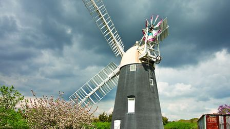 The mill at Thelnetham, one of many open this weekend