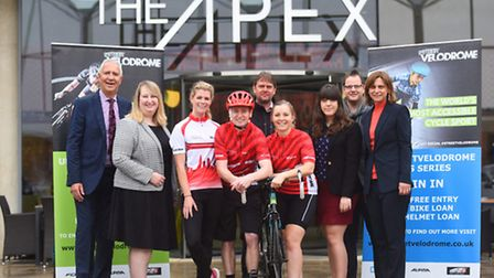 2016 UK Street Velodrome Series will be coming to Charter Square in Bury St Edmunds this summer.