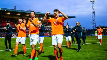 Braintree Town face Grimsby today, with a Wembley place at stake