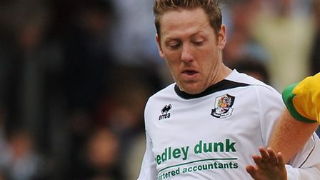 Jamie Day in action for Dartford during his playing days in 2009