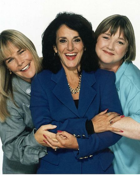 Birds of a Feather also starred Pauline Quirke and Linda Robson. It ran for nine years on the BBC, r